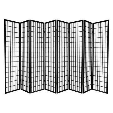 Oriental Furniture Window Pane Shoji Room Divider