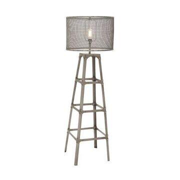 Decmode Metal Floor Lamp, Multi Color