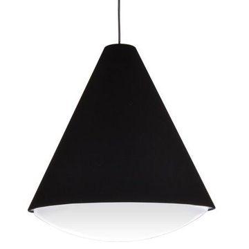 Dainolite 22W LED Pendant, Black