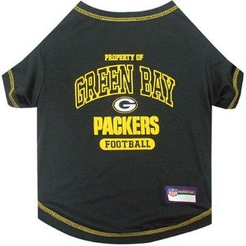 Pets First NFL Green Bay Packers Pet T-shirt, Assorted Sizes