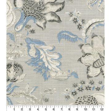 Waverly Upholstery Fabric-Hazel Chambray