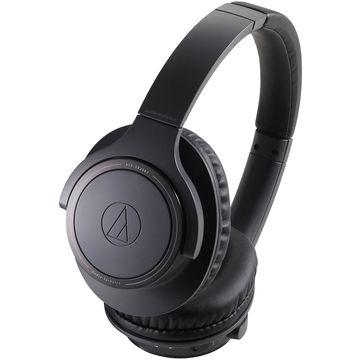 Audio-Technica Charcoal Gray Wireless Over-Ear Headphones
