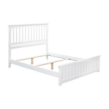 Atlantic Furniture Mission Bed with Matching Footboard