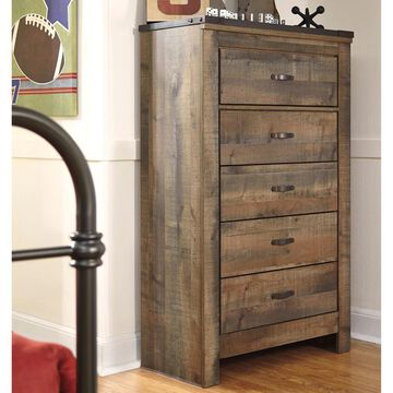 Signature Design by Ashley Trinell Brown 5-drawer Chest (Chest)