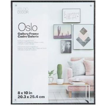 Black Deep Edgeless Frame, Oslo By Studio Decor
