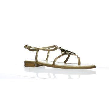 Andrew Geller Womens Lareda Soft Gold Slingbacks Size 8