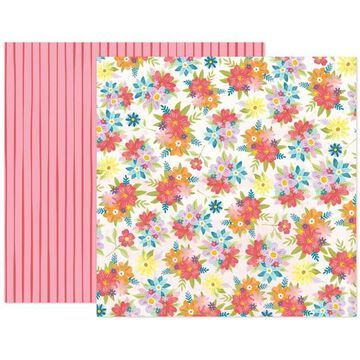 """Paige Evans Wonders Paper 16 Double-Sided 12"""" x 12"""" Cardstock, 25 Sheets By American Crafts 