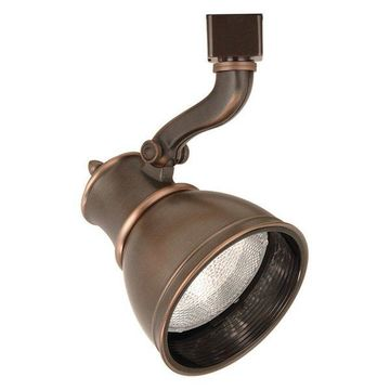 WAC Lighting Line Voltage Track Fixture in Antique Bronze for J Track