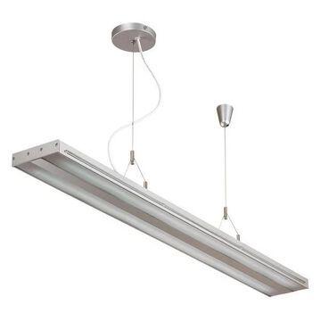 Lite Source LS-19689SILV Giada - Fluorescent Ceiling Lamp