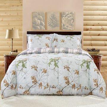 Realtree Camouflage King Comforter Set