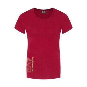 EA7 Ea7 Emporio Armani T-shirt Rosso Donna