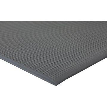 Genuine Joe, Air Step Anti-Fatigue Mat, 1 Each, Black