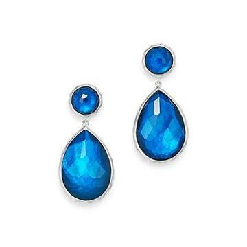 Ippolita Sterling Silver Wonderland Teardrop Earrings in Lagoon