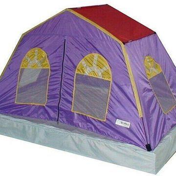 Kids Play Tent Children Sleeping Shelter Fiberglass Pole Indoor Outdoor 2 Person