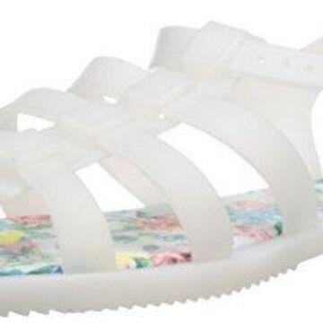 Call It Spring Women's Terryn Gladiator Sandal, Clear, 9 B US