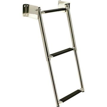Seachoice Telescoping Transom Mount Stainless Steel Ladder