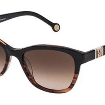 Carolina Herrera SHE698 0GEQ Womenas Sunglasses Tortoise Size 53