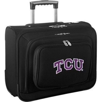 Denco NCAA Wheeled Laptop Overnighter - Texas Christian