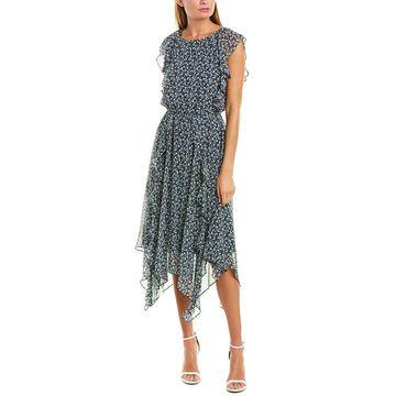 1.State Womens Midi Dress