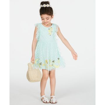 Little Girls Tassel-Trim Dress, Created for Macy's