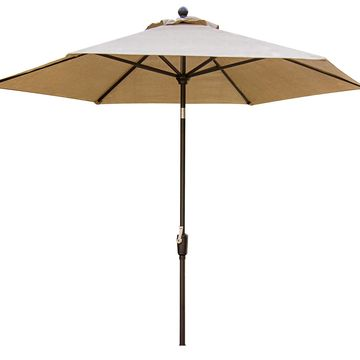 Hanover Traditions Natural Oat 11 Ft. Table Umbrella