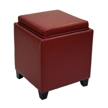 Armen Living Contemporary Storage Ottoman