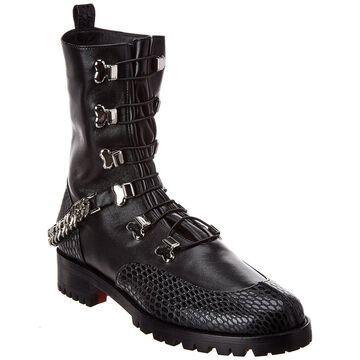 Christian Louboutin Horse Guarda Leather Boot
