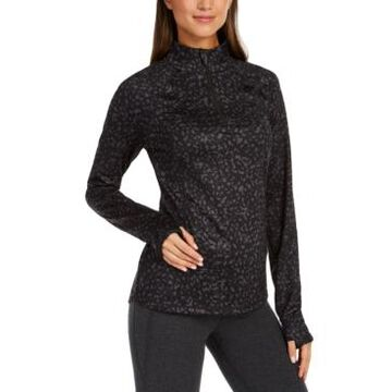 Ideology Printed Quarter-Zip, Created for Macy's