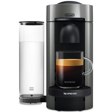 by De'Longhi Gray VertuoPlus Coffee and Espresso Machine