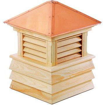 Good Directions Dover Wood Shiplap Cupola with Copper Roof - 30