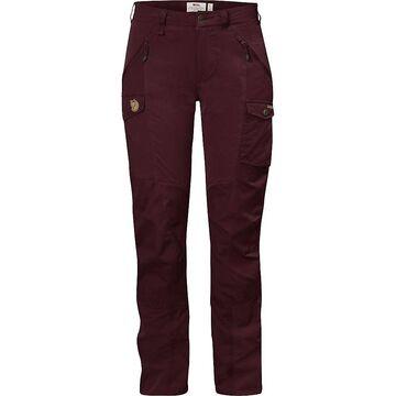 Fjallraven Women's Nikka Curved Trousers - 40 - Dark Garnet