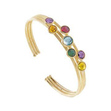 Marco Bicego Jaipur Color 18K Gemstone Cuff