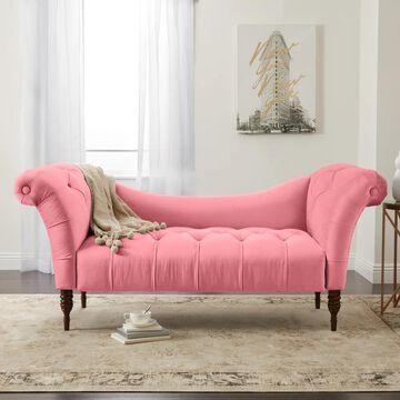 Skyline Furniture Custom Settee in Linen