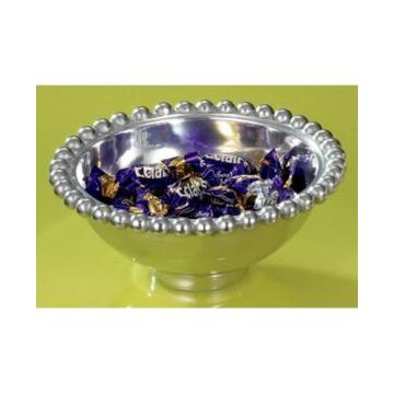 """St. Croix Kindwer 6"""" Aluminum Imperial Beaded Round Bowl"""
