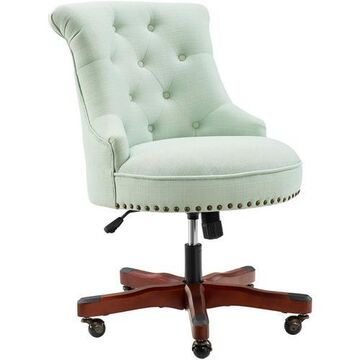 Linon Tate Mint Green Office Chair