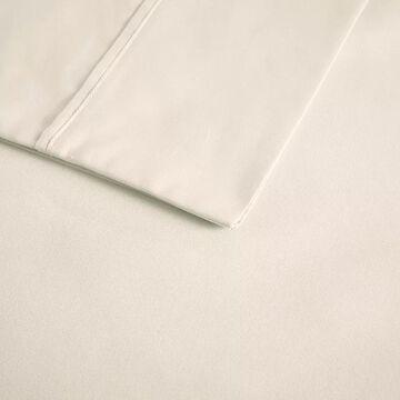 Beautyrest 600 Thread Count Cooling Cotton Rich Sheet Set, White, King Set