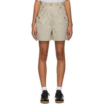 Isabel Marant Etoile Beige Palino Shorts