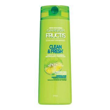 Garnier Fructis Pure Clean Shampoo with Grapefruit, 650 ml