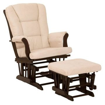 Storkcraft Tuscany Glider Rocking Chair & Ottoman