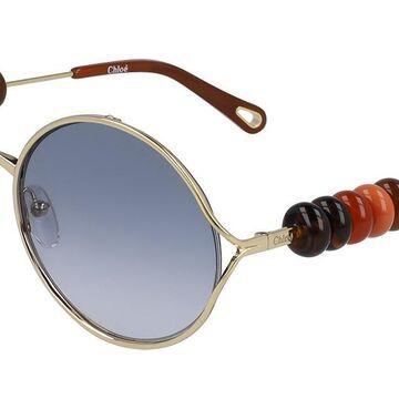 Chloe CE 167S 774 Womenas Sunglasses Gold Size 57