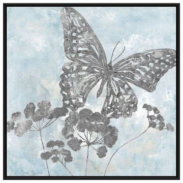 PTM Images, Soft Silhouette Butterfly