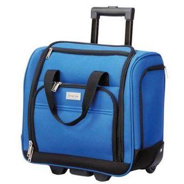 Geoffrey Beene Hempstead 16-Inch Rolling Underseat Luggage in Royal Blue