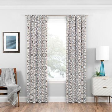Eclipse Morrow Blackout Window Curtain, Grey, 37X95