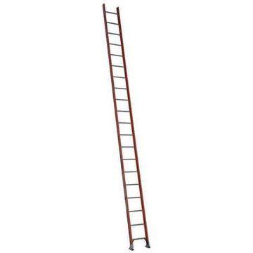 WERNER D6220-1 Ladder, 20 ft. H, 19 In. W, Fiberglass