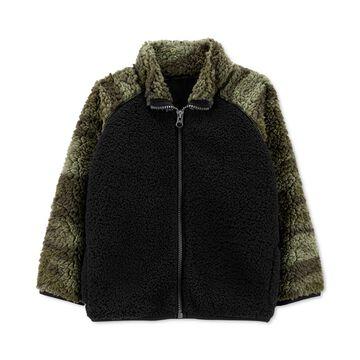 Baby Boys Camo-Print Fleece Jacket