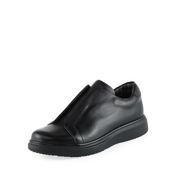 Men's Leather Laceless Sneakers
