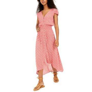 Be Bop Juniors' Printed High-Low A-Line Dress