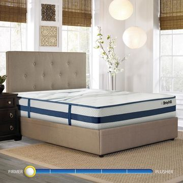 Broyhill Natural Spring Sapphire Earl 11-inch Firm Cooling Hybrid Mattress