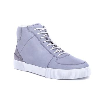 English Laundry Aiden Leather Sneaker - Grey