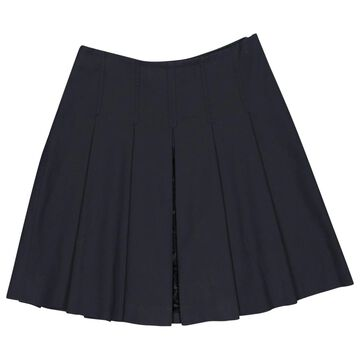 Prada Navy Cotton Skirts